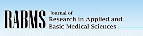 Journal of Research in Applied and Basic Medical Sciences